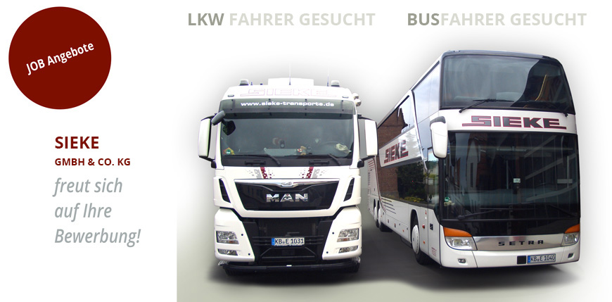 Busfahrer D / De + Lkw Fahrer C / Ce Gesucht | Für Ihre Karriere